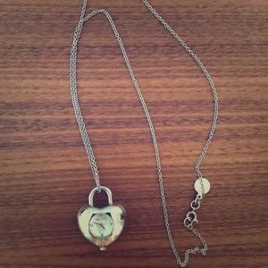 Watch necklace Marc Jacobs